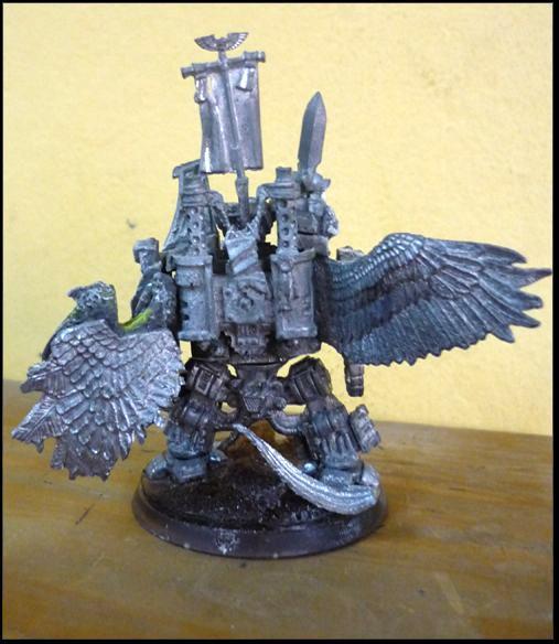 Conversion, Dark Angels, Dreadnought, Space Marines