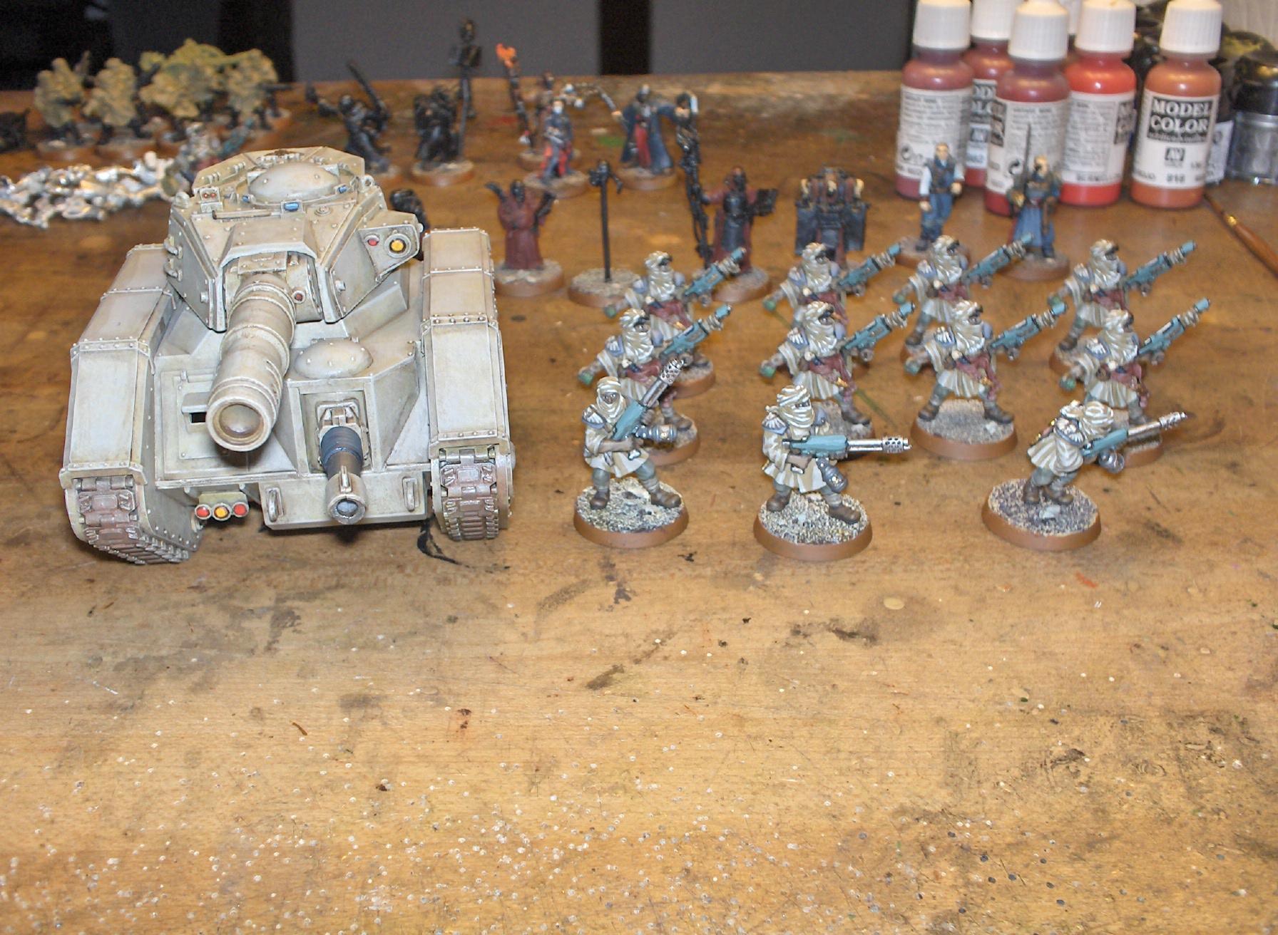 Imperial Guard, Tallarn Desert Raiders