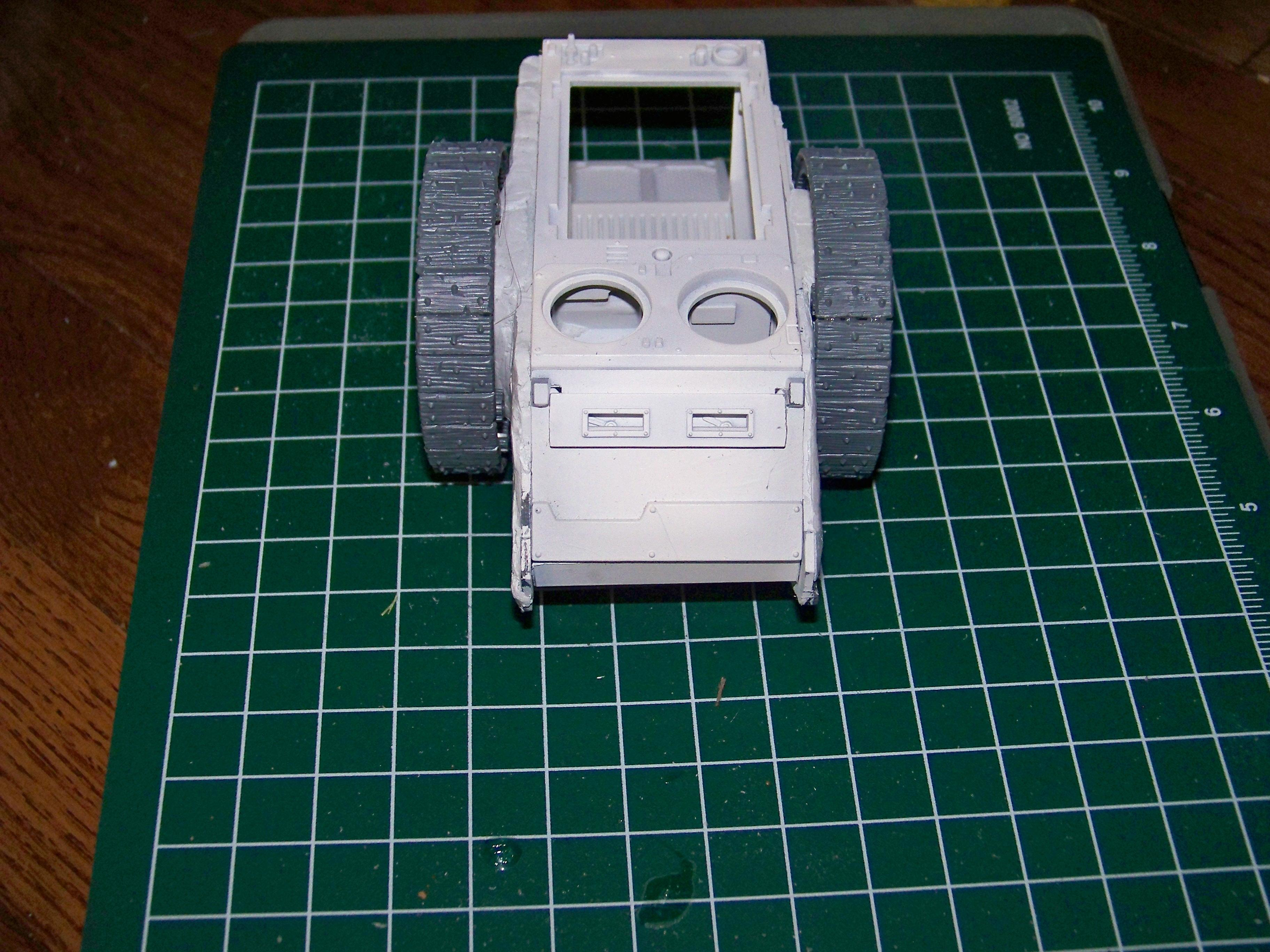 Wheel test fitting front view