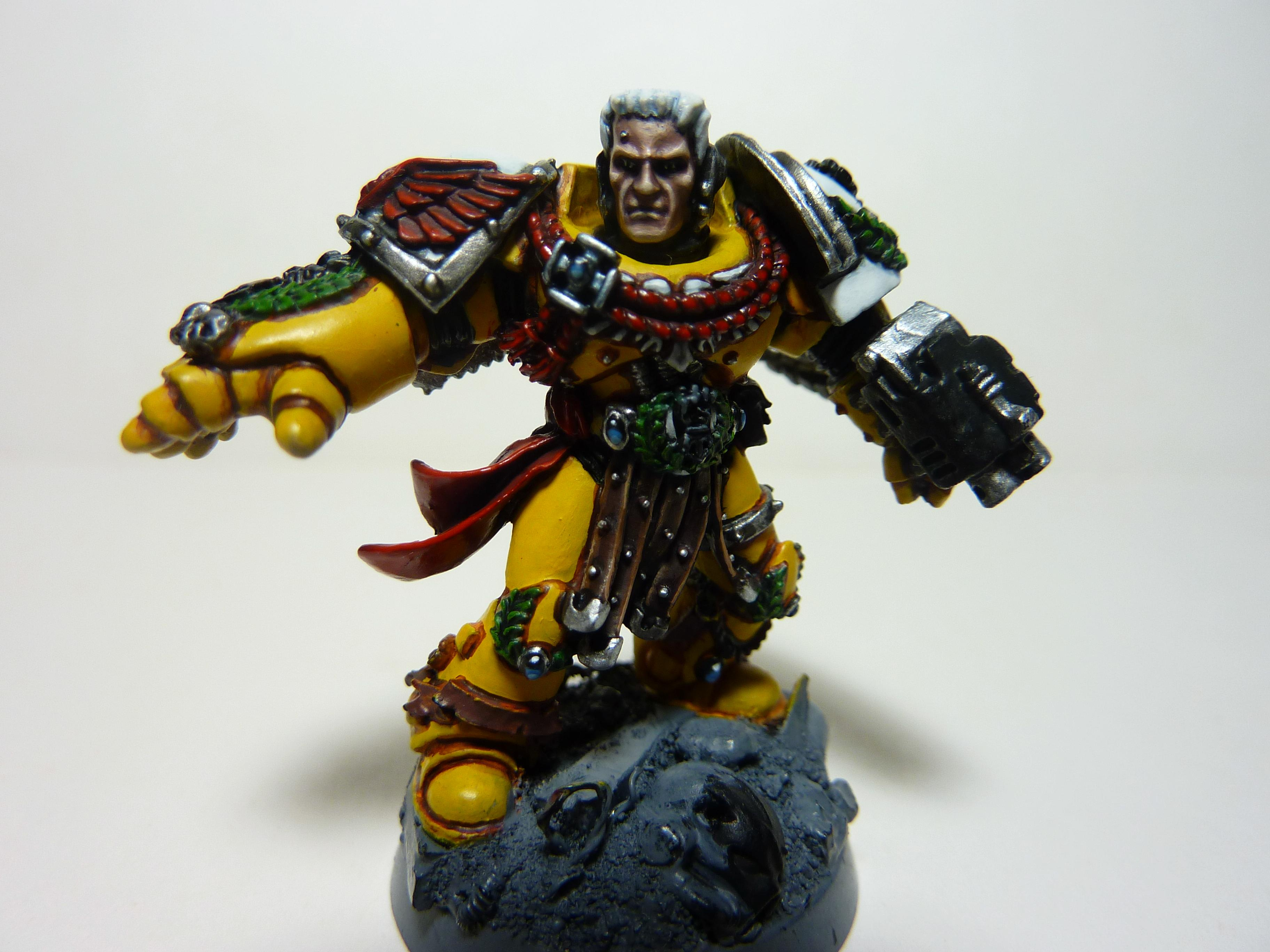 Imperial Fists, Pedro Kantor, Space Marines, Warhammer 40,000