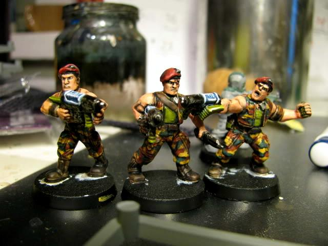 3rd, Belgium, Camouflage, Conversion, Darkon, Imperial Guard, Plasma, Plasmagunner, Plasmas, Veteran, Warhammer 40,000, Work In Progress