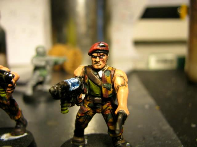 3rd, Belgium, Camouflage, Conversion, Darkon, Imperial Guard, Plasma, Plasmagunner, Plasmas, Veteran, Warhammer 40,000, Work In Progress