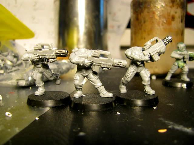 3rd, Belgium, Camouflage, Conversion, Darkon, Imperial Guard, Meltagun, Veteran, Warhammer 40,000, Work In Progress