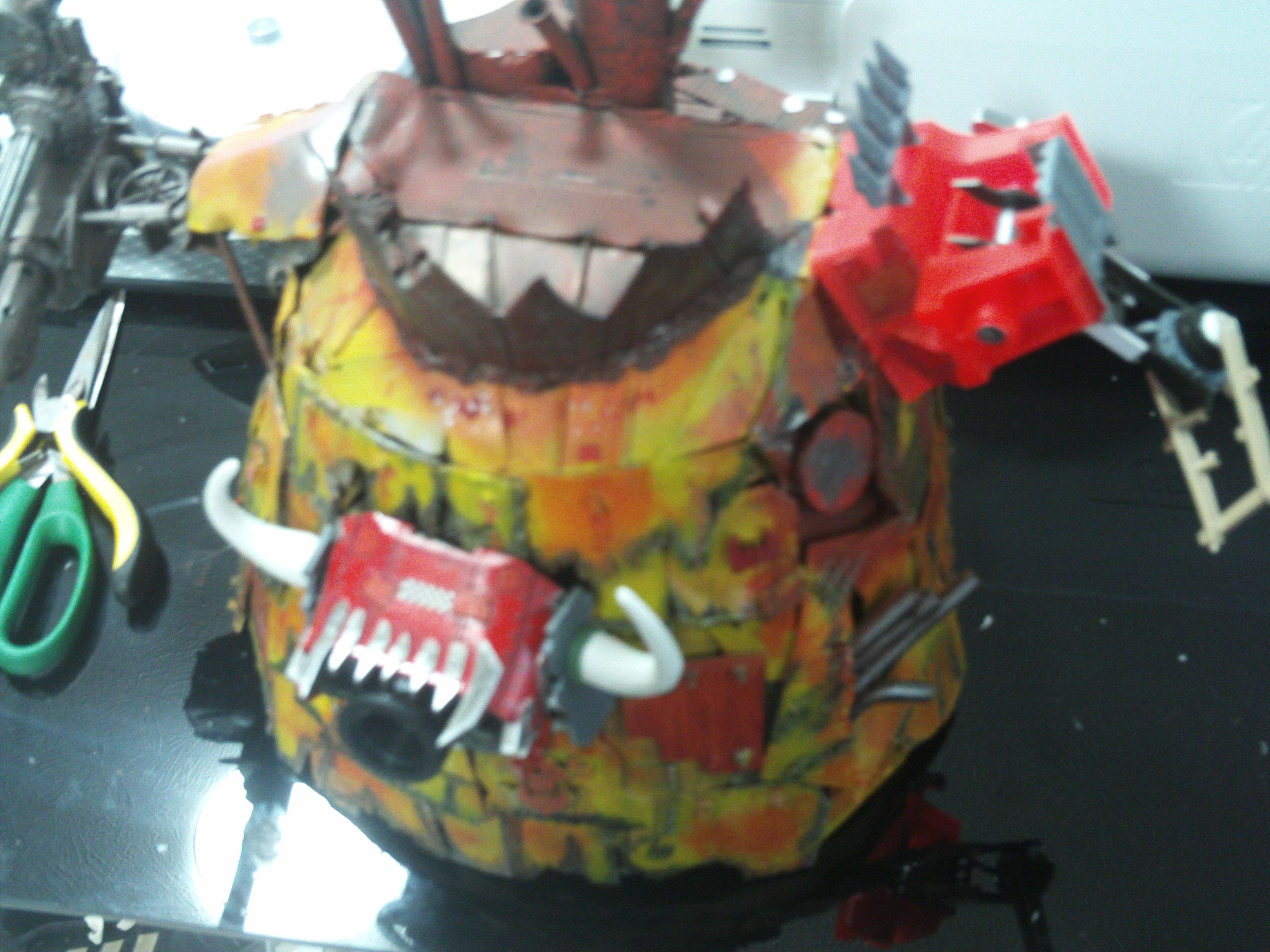 Wip Picture of my Stompa