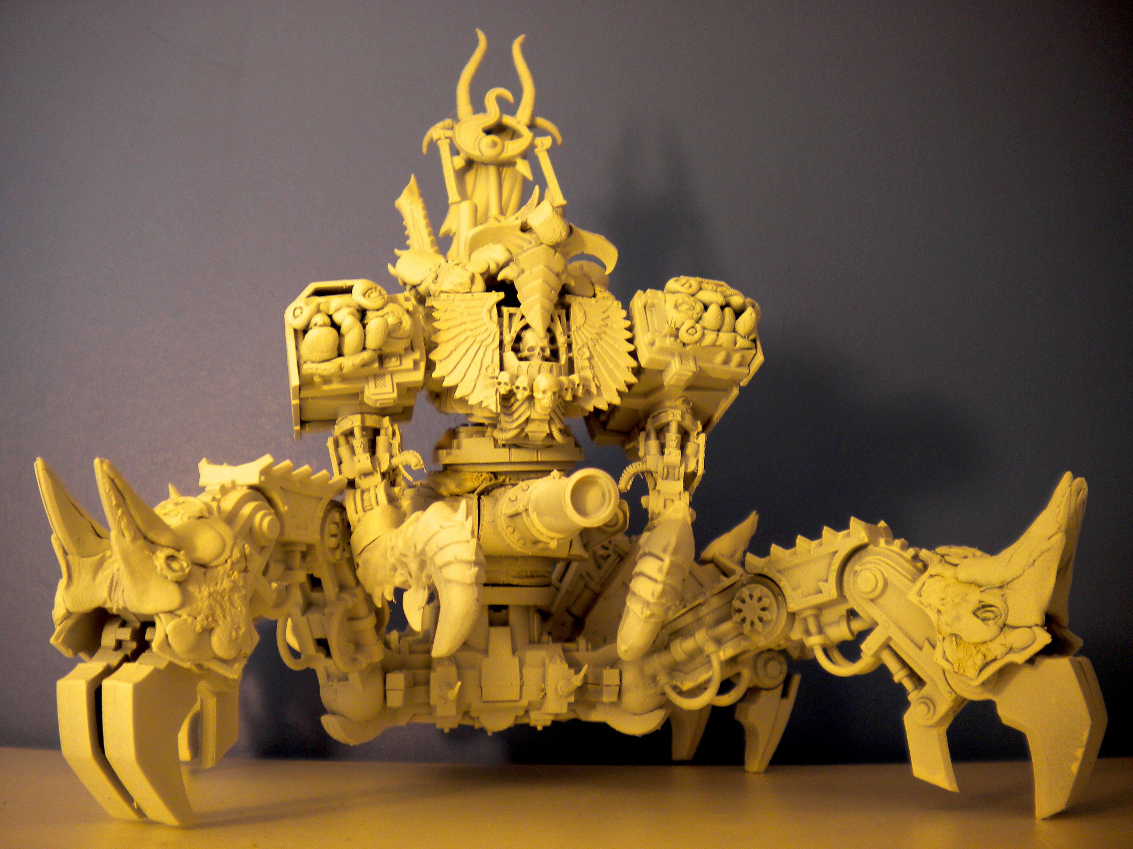 Bio Mechanical, Chaos, Chaos Army, Chaos Rhino, Chaos Space Marines, Conversion, Daemon Prince, Defiler, Nurgle, Nurgle Army, Painted Chaos, Plague Marines, Thousand Sons, Tzeentch