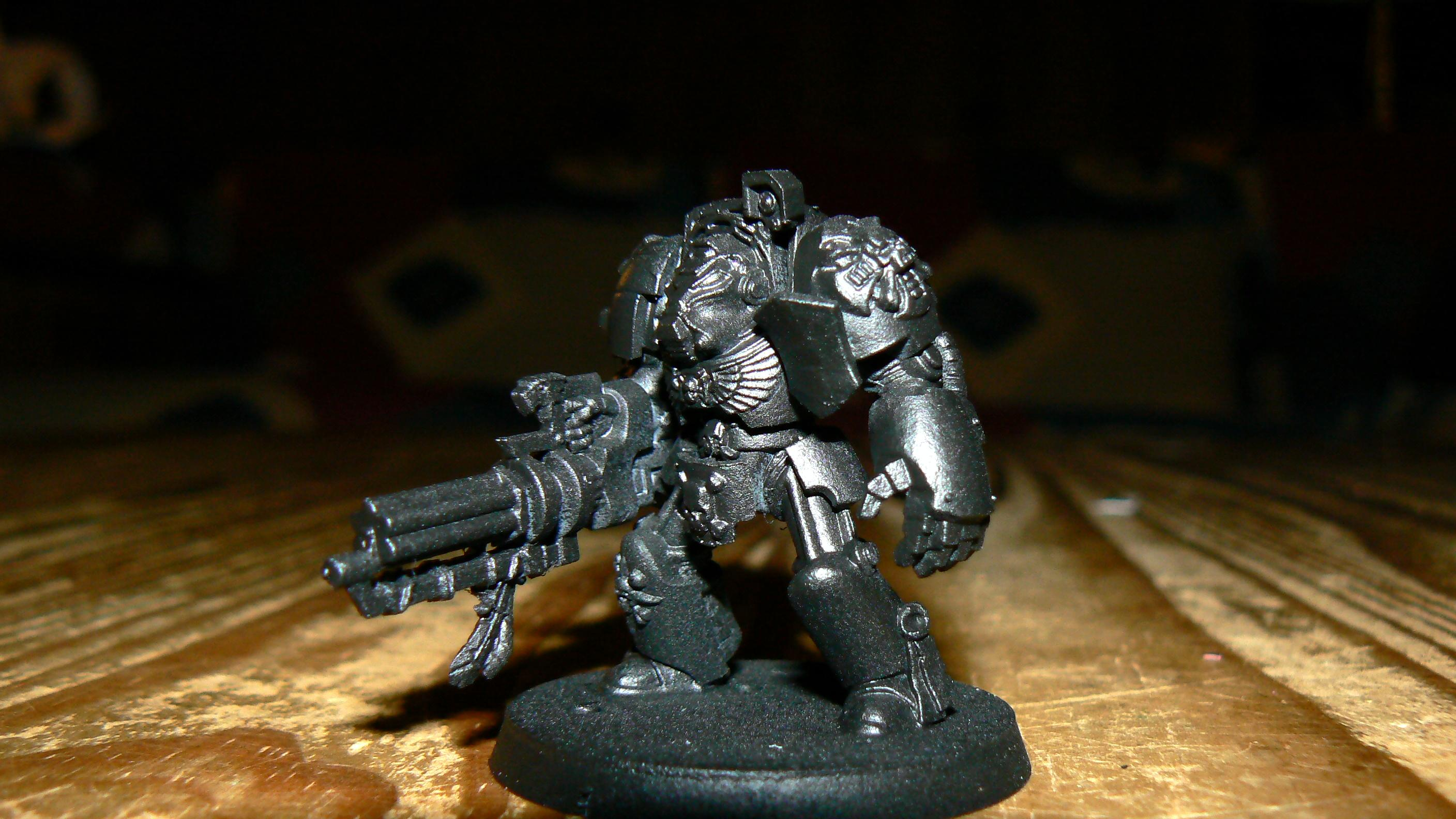 Assault Cannon, Dark Angels, Deathwing, Peacemakers, Penitent Avengers, Primered, Terminator Armor