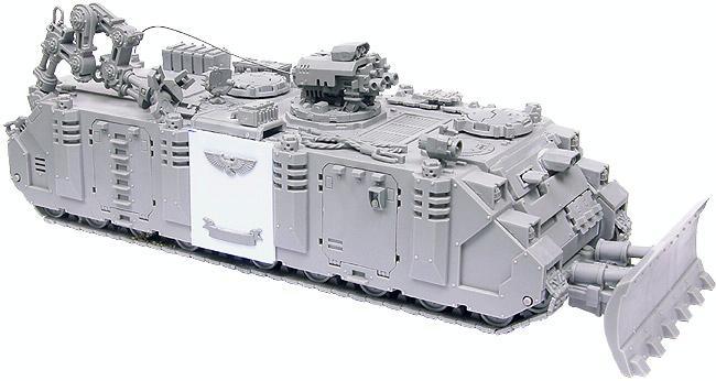 Conversion, Limousine, Rhino, Space Marines, Tank, Utility, Warhammer 40,000