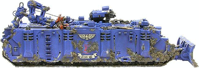 Rhino, Rhino Conversion, Space Marine Recovery Vehicle