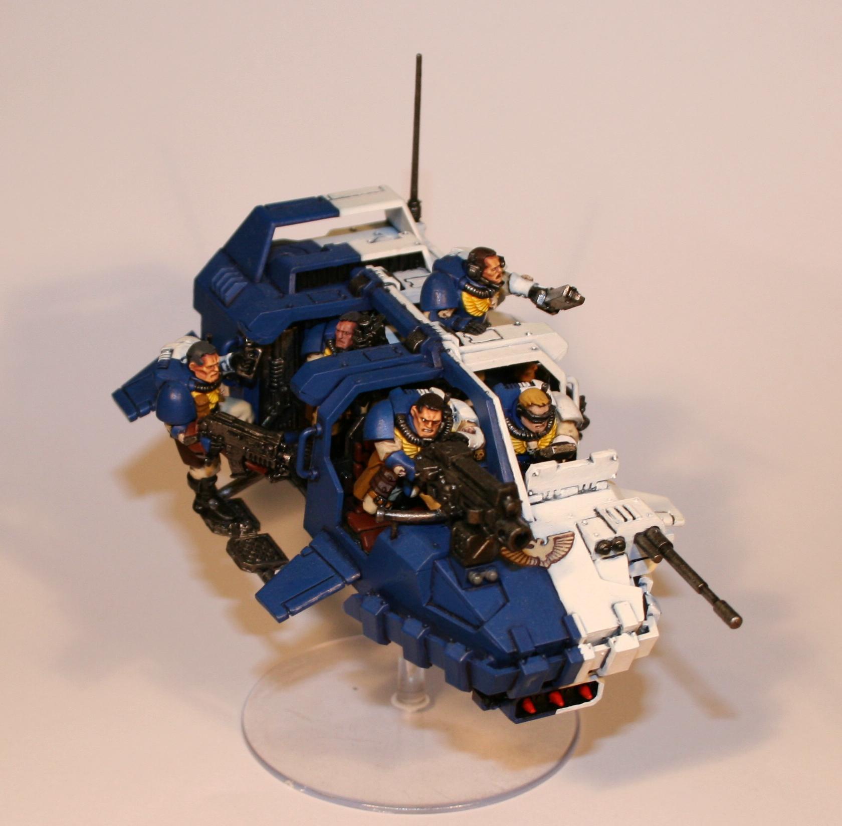 Eagle Warriors, Land Speeder, Landspeeder Storm, Space Marines