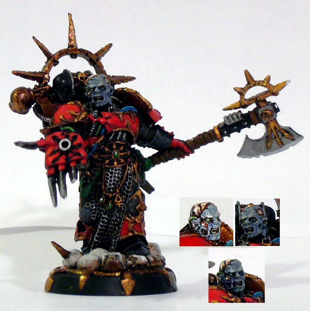 Chaos Space Marines, Huron Blackheart, Red Corsairs, Warhammer 40,000