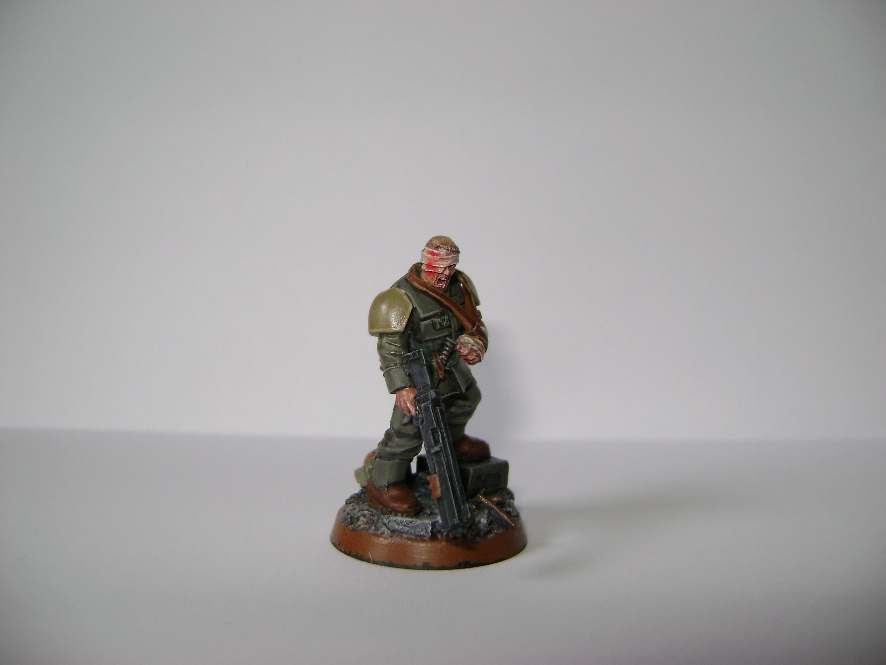 Crew, Imperial Guard, Veteran, Warhammer 40,000, Wounded