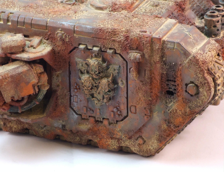 Land Raider, Nurgle, Rust