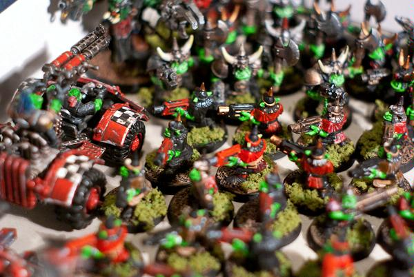 Gretchin, Grots, Orks, Warbuggy
