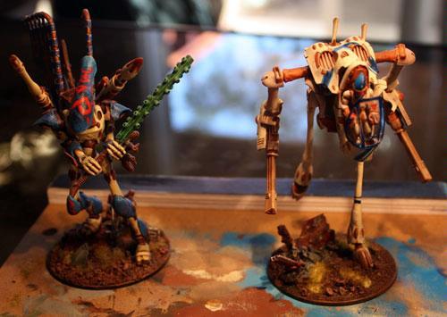 Eldar, Rokugnar, War Walker, Wraithlord