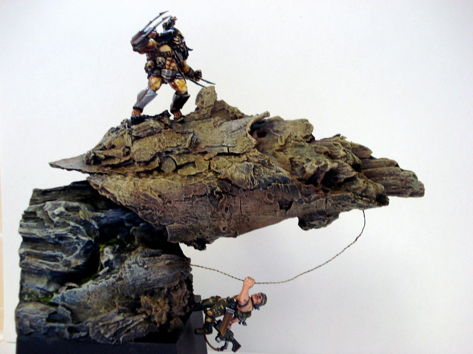 Base, Catachan, Diorama, Duel, Imperial Guard, Predator