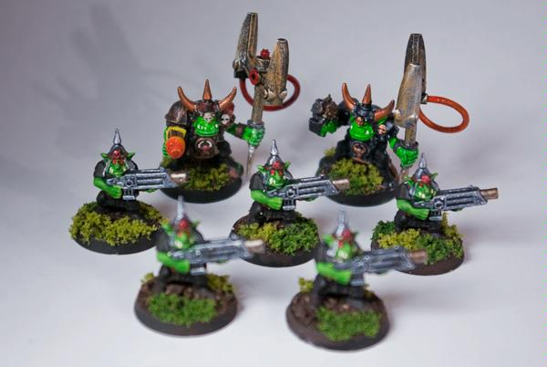 Gretchin, Grots, Orks, Runtherd