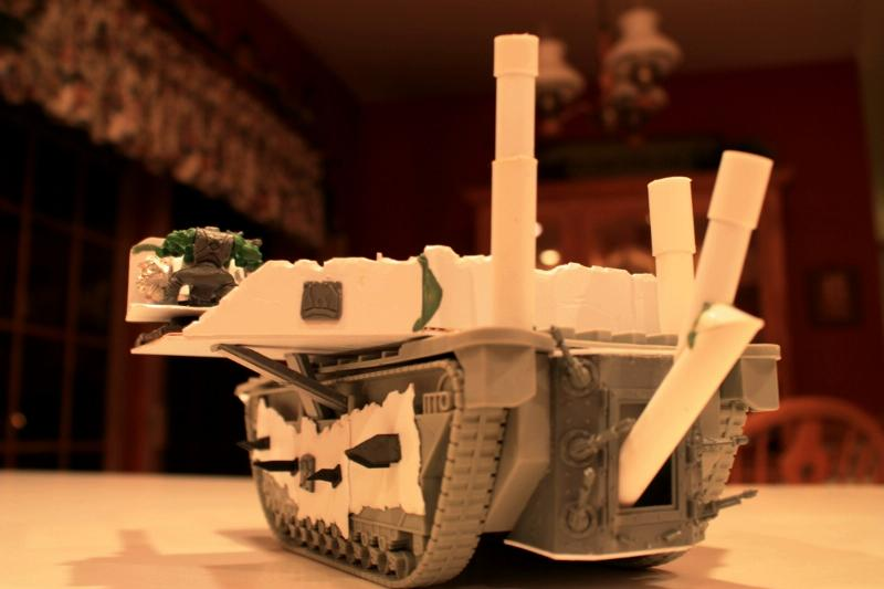 Battlewagon, Big Shootas, Boomwagon, Kannon, Killkannon, Lootas, Scratch Build