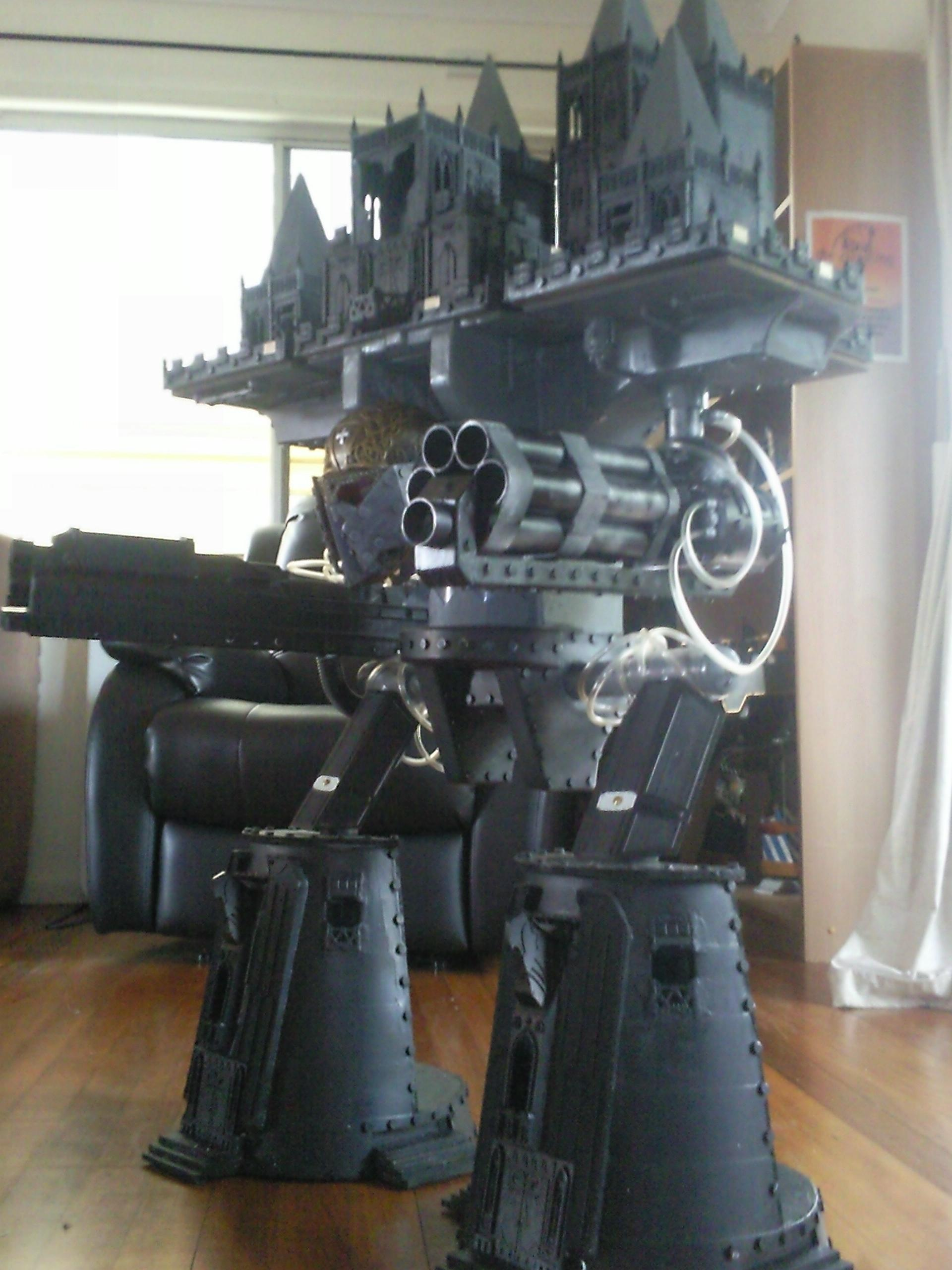 Conversion, Emperor Titan, Huge, Imperator Titan, Scratch Build, Titan