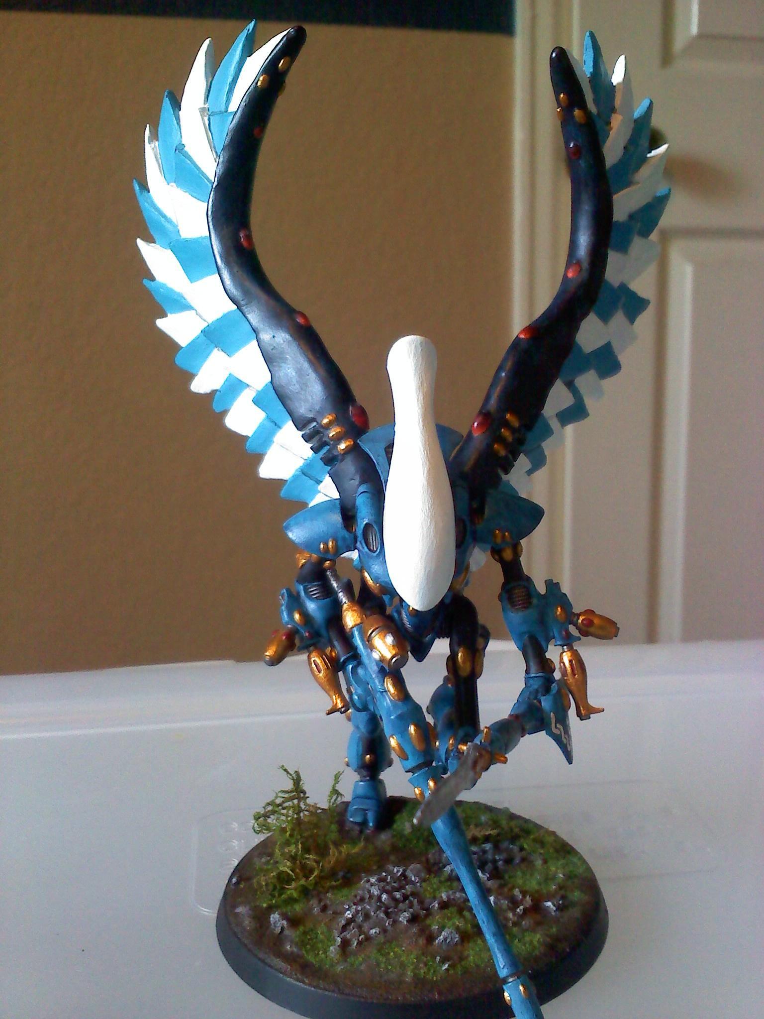Craftworld, Eldar, Swooping Hawks, Uaire-nem, Wraithhawk, Wraithlord Conversion