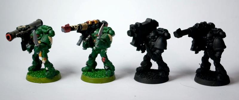 Dark Angels, Heavy Bolter, Heavy Weapon, Lascanon, Missile Launcher