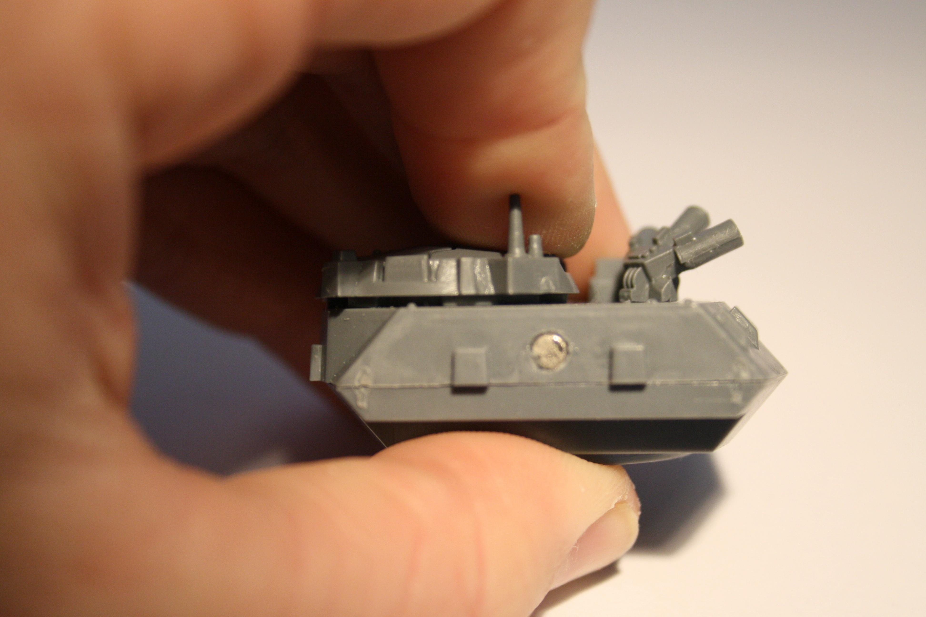 turret rear magnet
