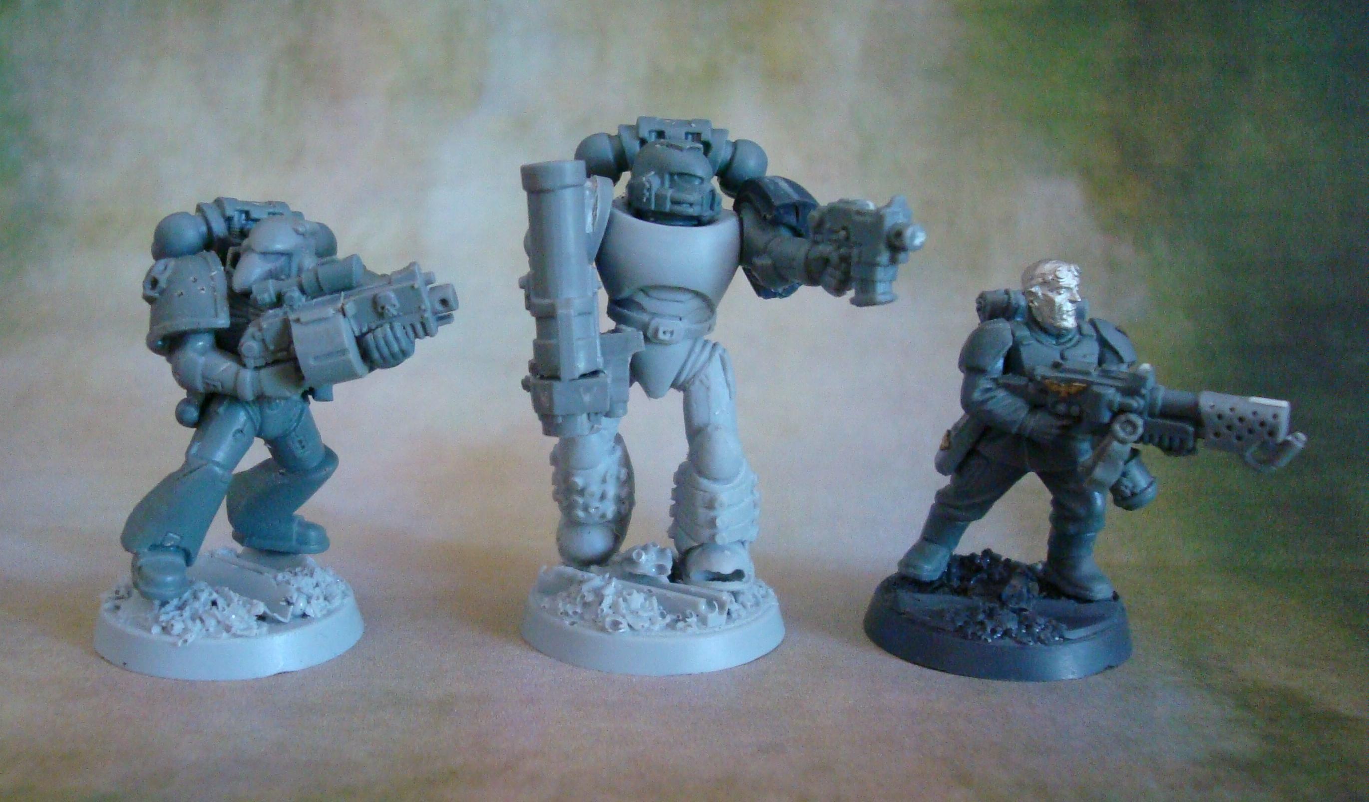 Space Marine Hunters, Space Marines, True Scale, Warhammer 40,000