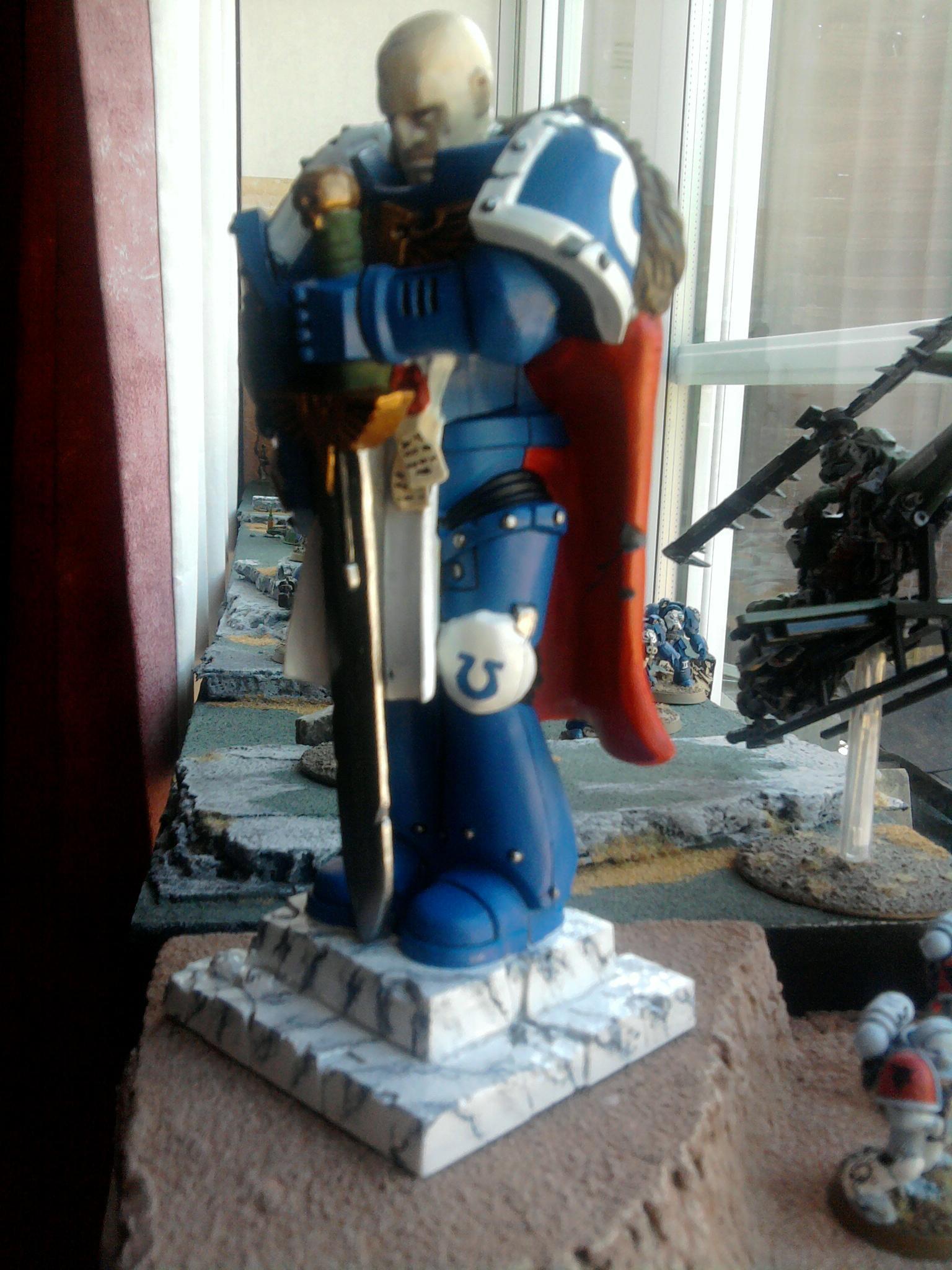 Adeptus Astartes, Honoured Imperium, Power Armour, Space Marines, Statue, Ultramarines