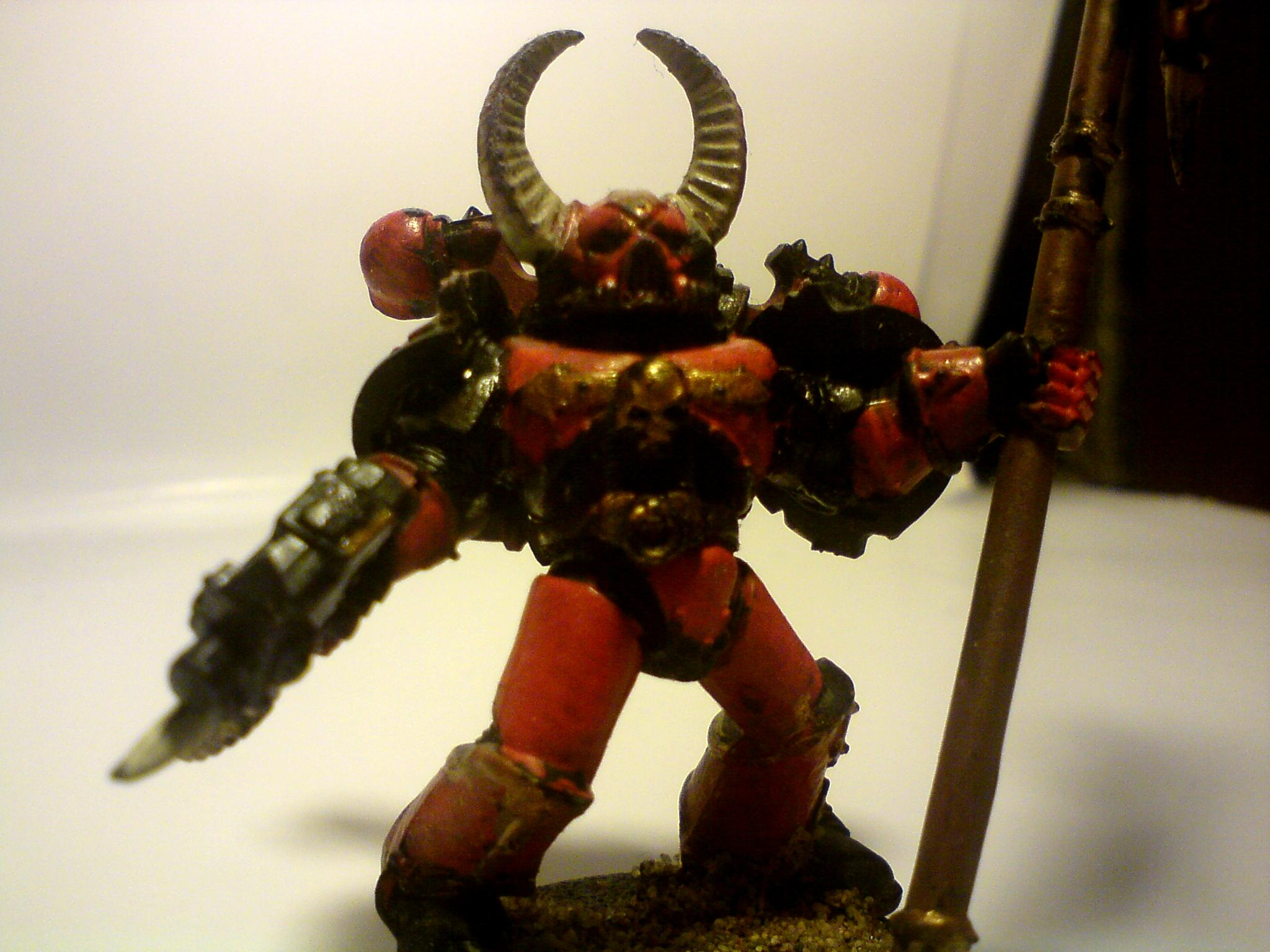 Banner, Chaos, Corsairs, Red, Space Marines