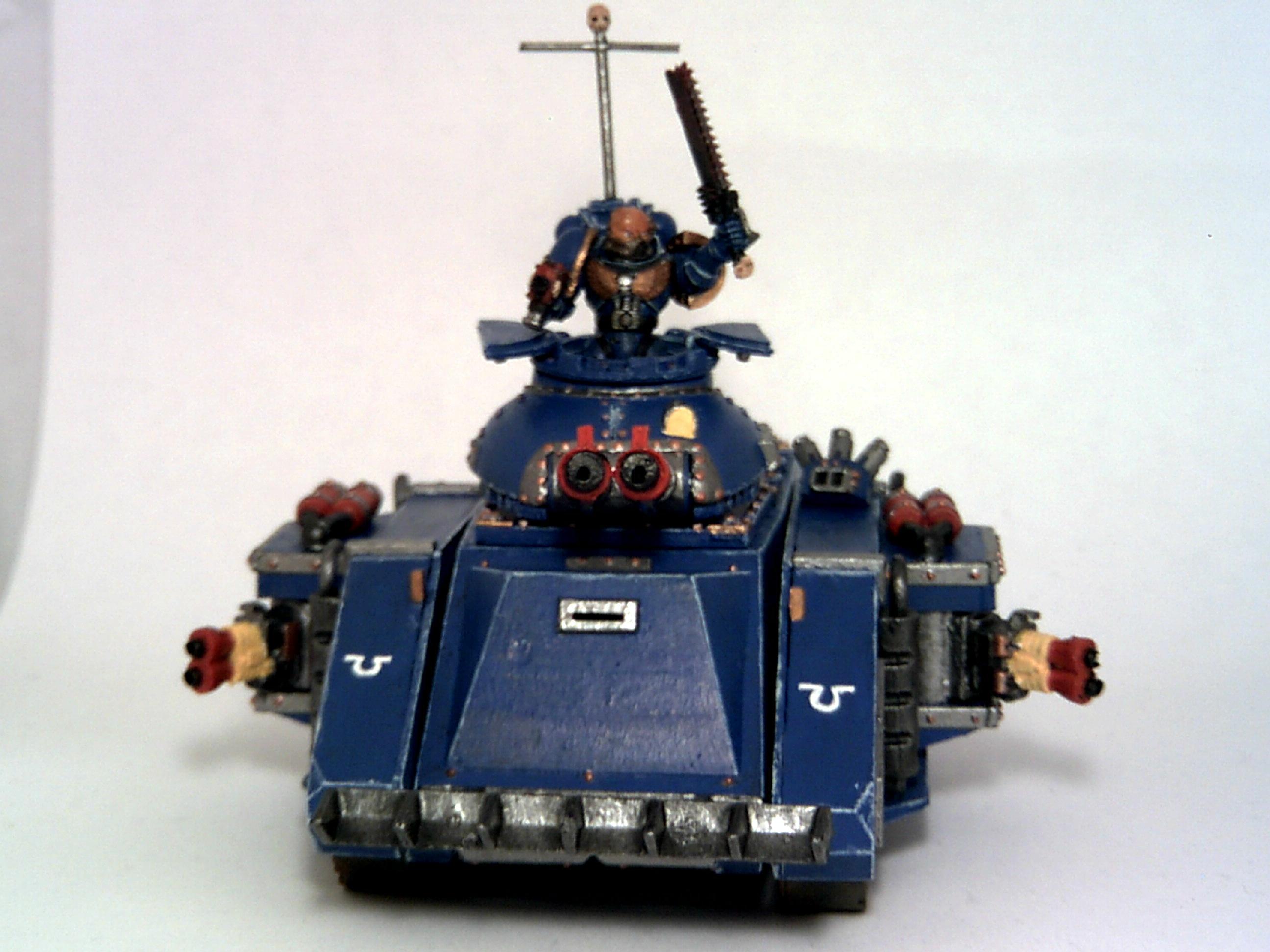 Predator Tank, Tank, Ultramarines