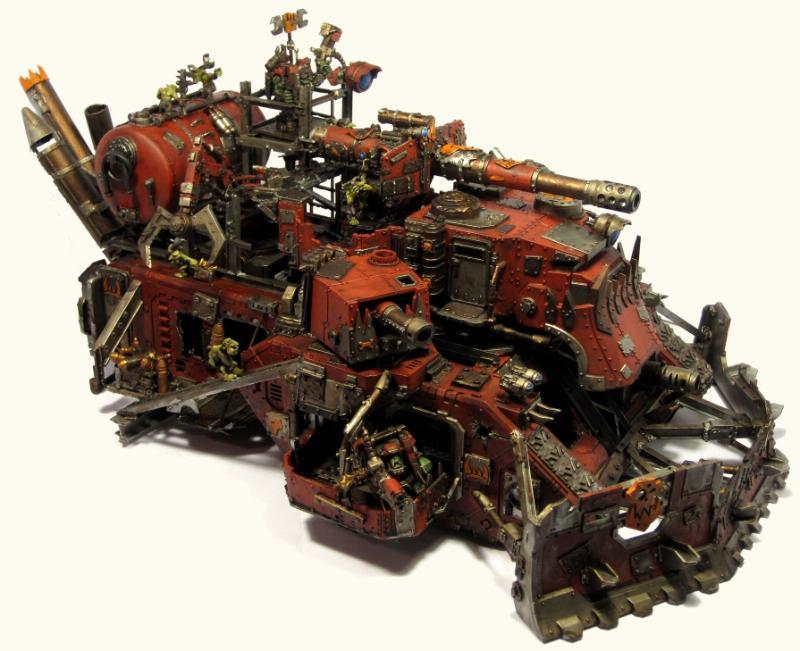 Battle Fortress, Conversion, Land Raider, Orks, Super-heavy