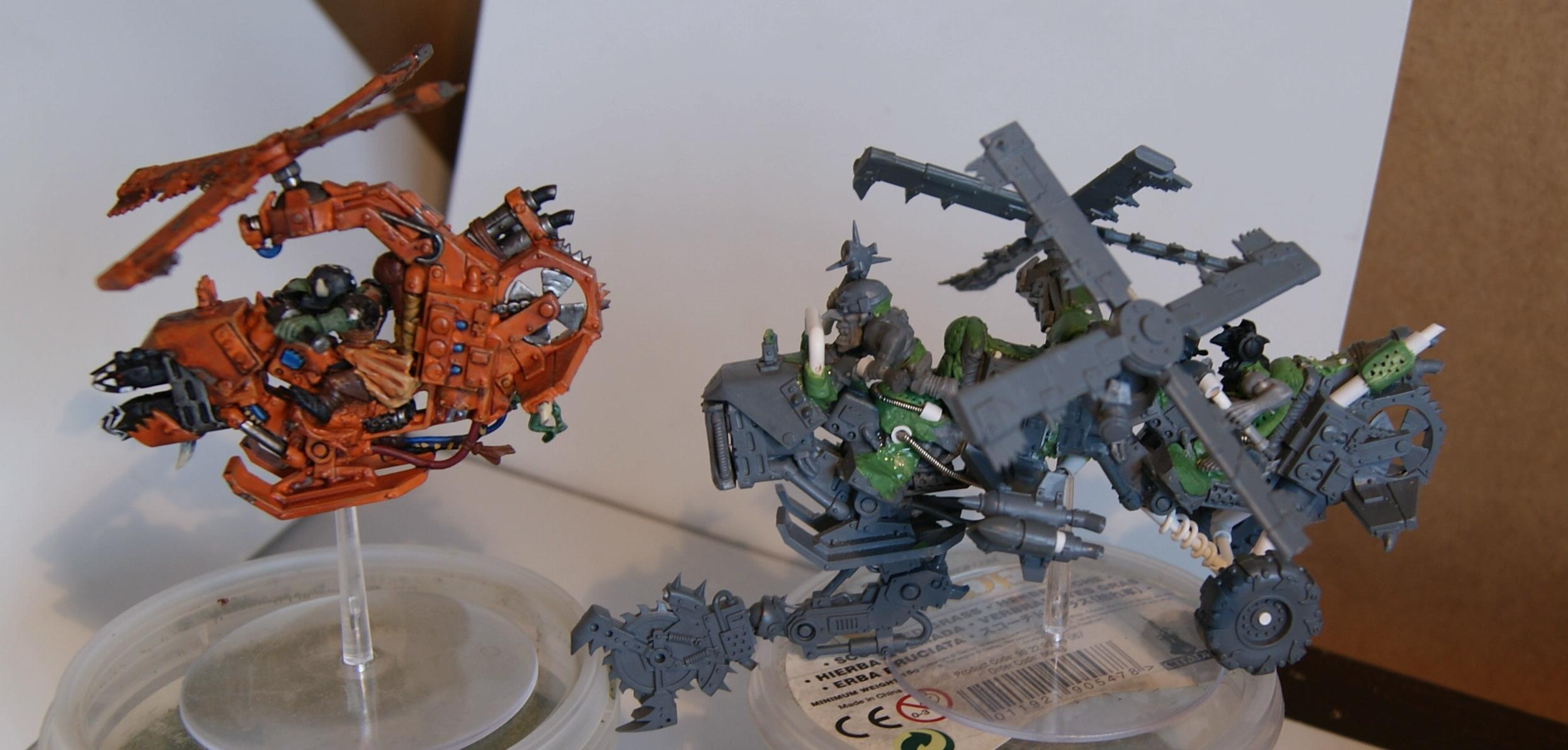 Conversion, Deffkopta, Grot Rebellion, Grot Rebels, Grots, Warhammer 40,000