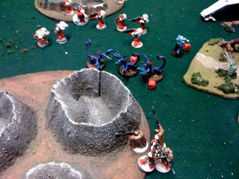 Battle Report, Blood Angels, Daemons