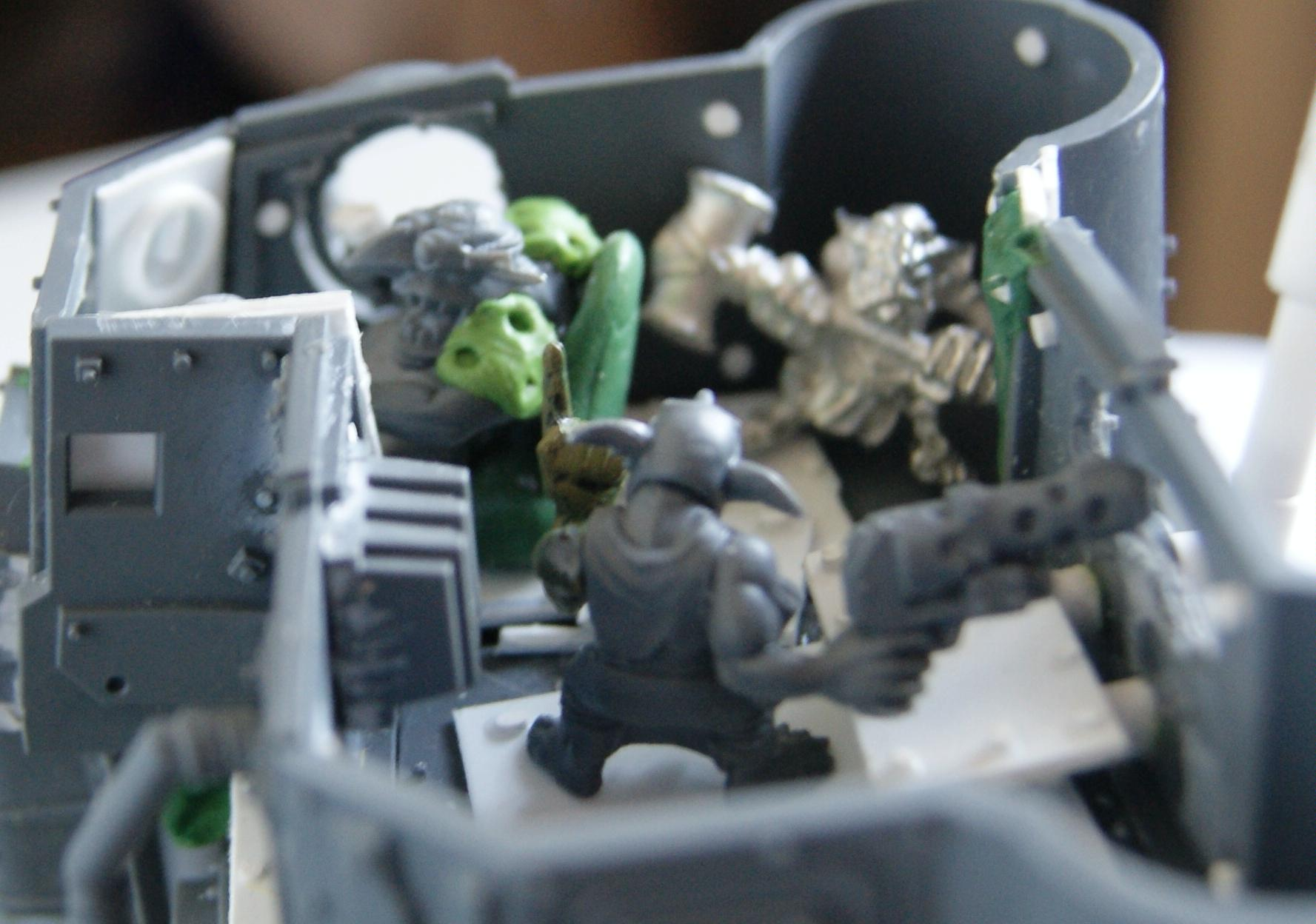 Battlewagon, Conversion, Grot Rebellion, Grot Rebels, Grots, Orks, Warhammer 40,000