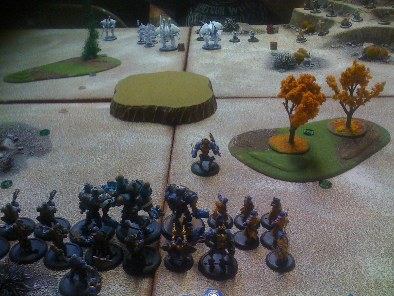 Hordes, Warmachine