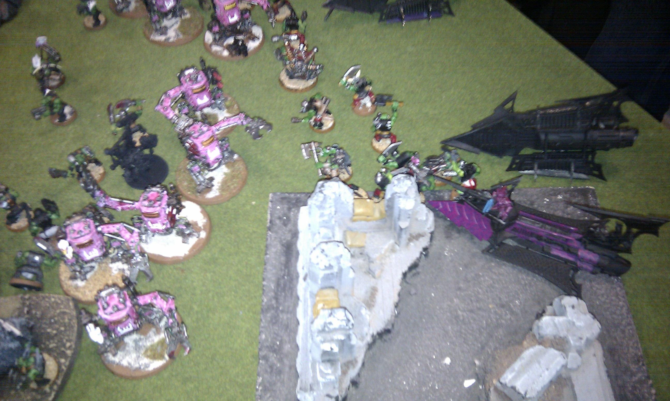 Dark Eldar, Orks