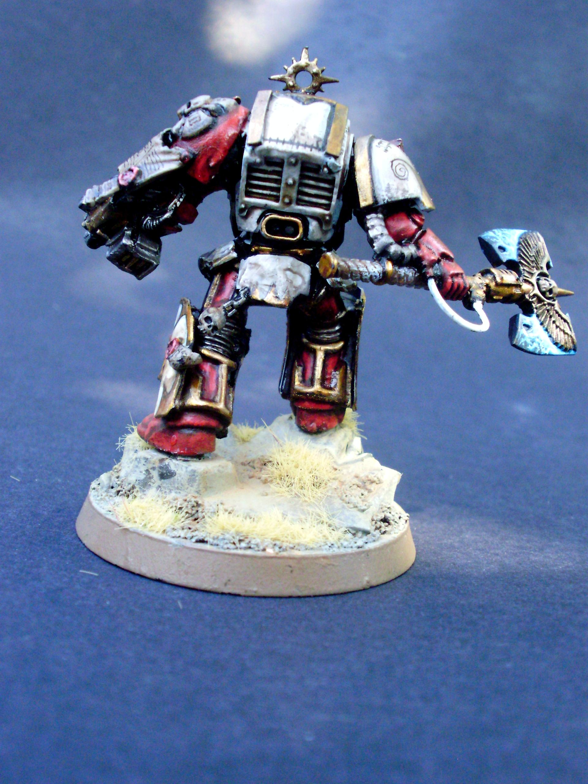 Chaptermaster, Conversion, Of Orar, Sons, Space Marines, Terminator Armor