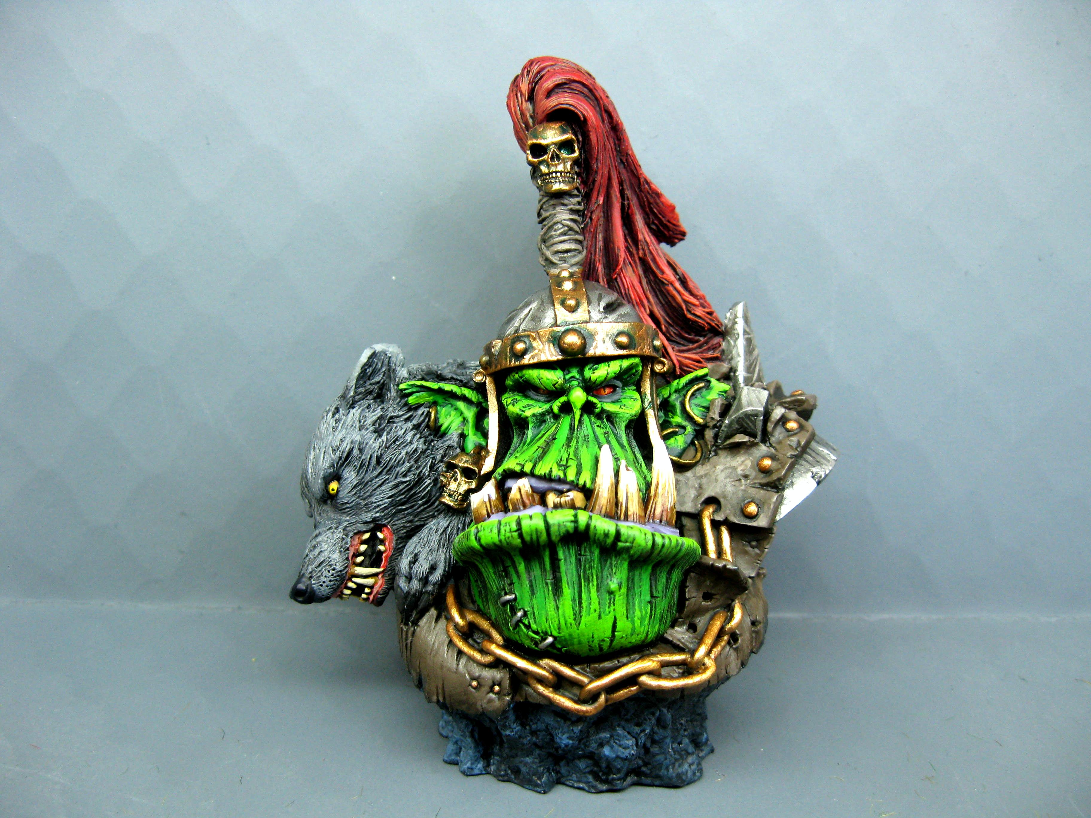 Goblins, Gobos, Orcs, Orcs And Goblins, Orks, Pro Painted, Rpg, Sculpture, Warhammer Fantasy