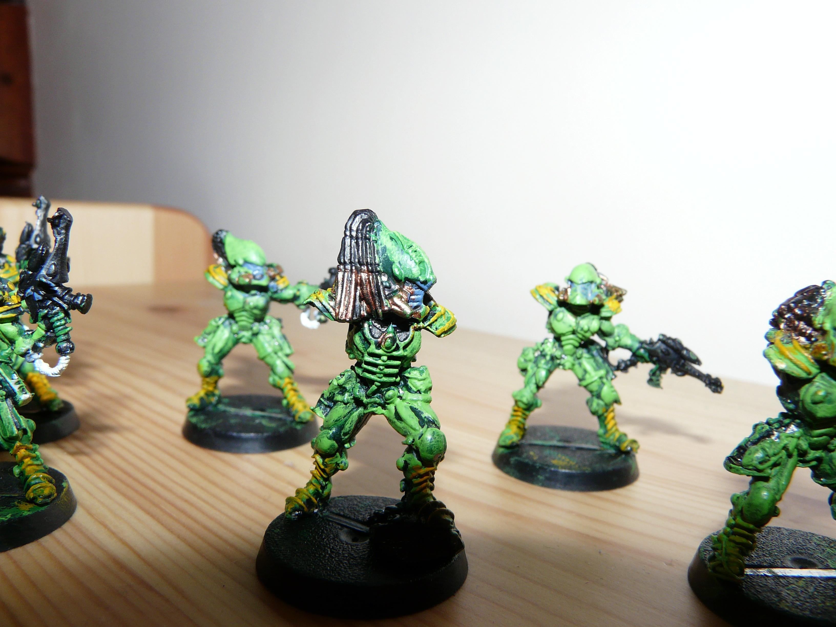 Eldar, Best Painted Models in my Eldar army: Striking Scorpions 2