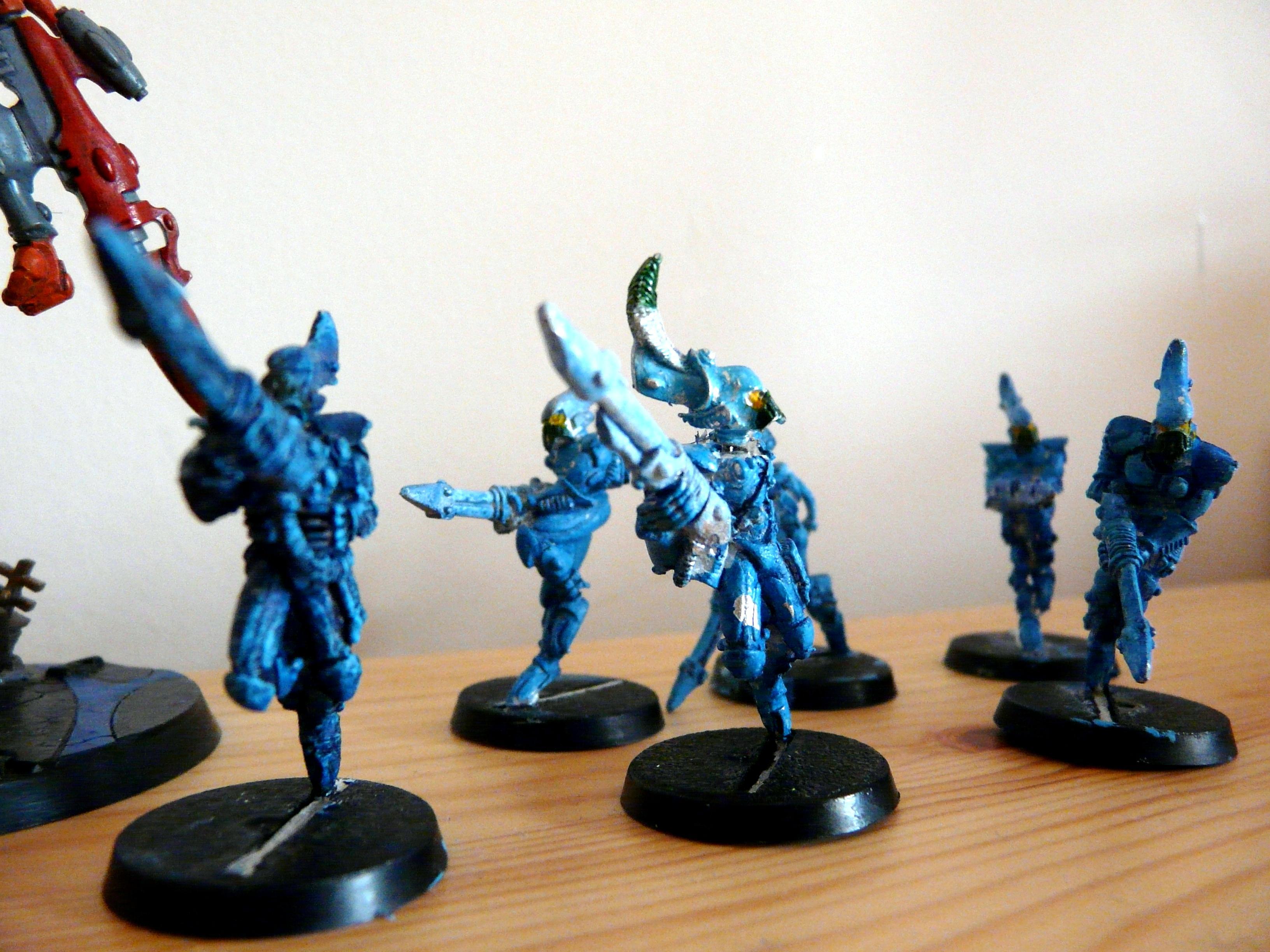 Eldar, Best Painted Models in my Eldar army: Swooping Hawks 2