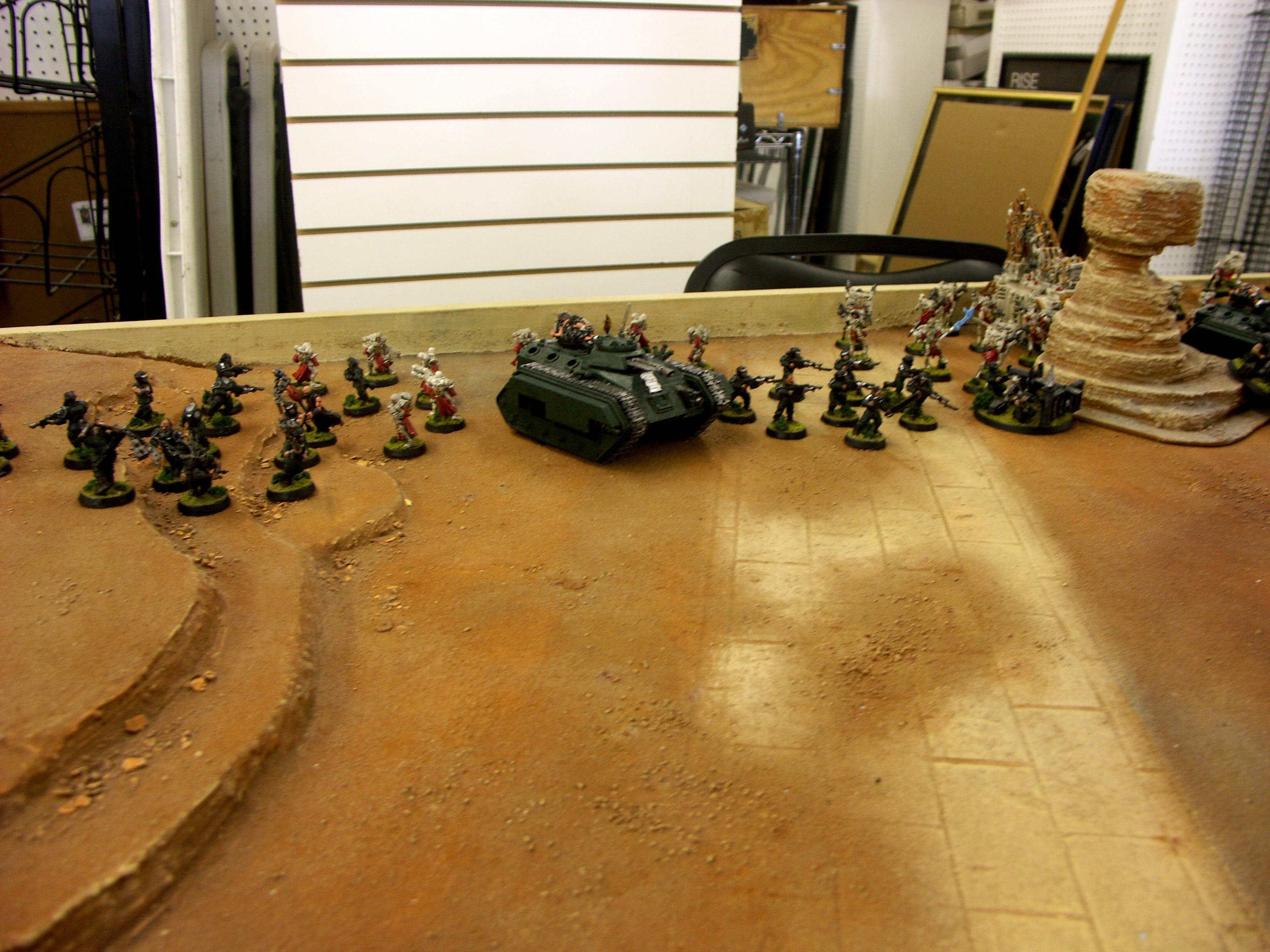 Battle Report, Bolter Beach, Dark Eldar, De