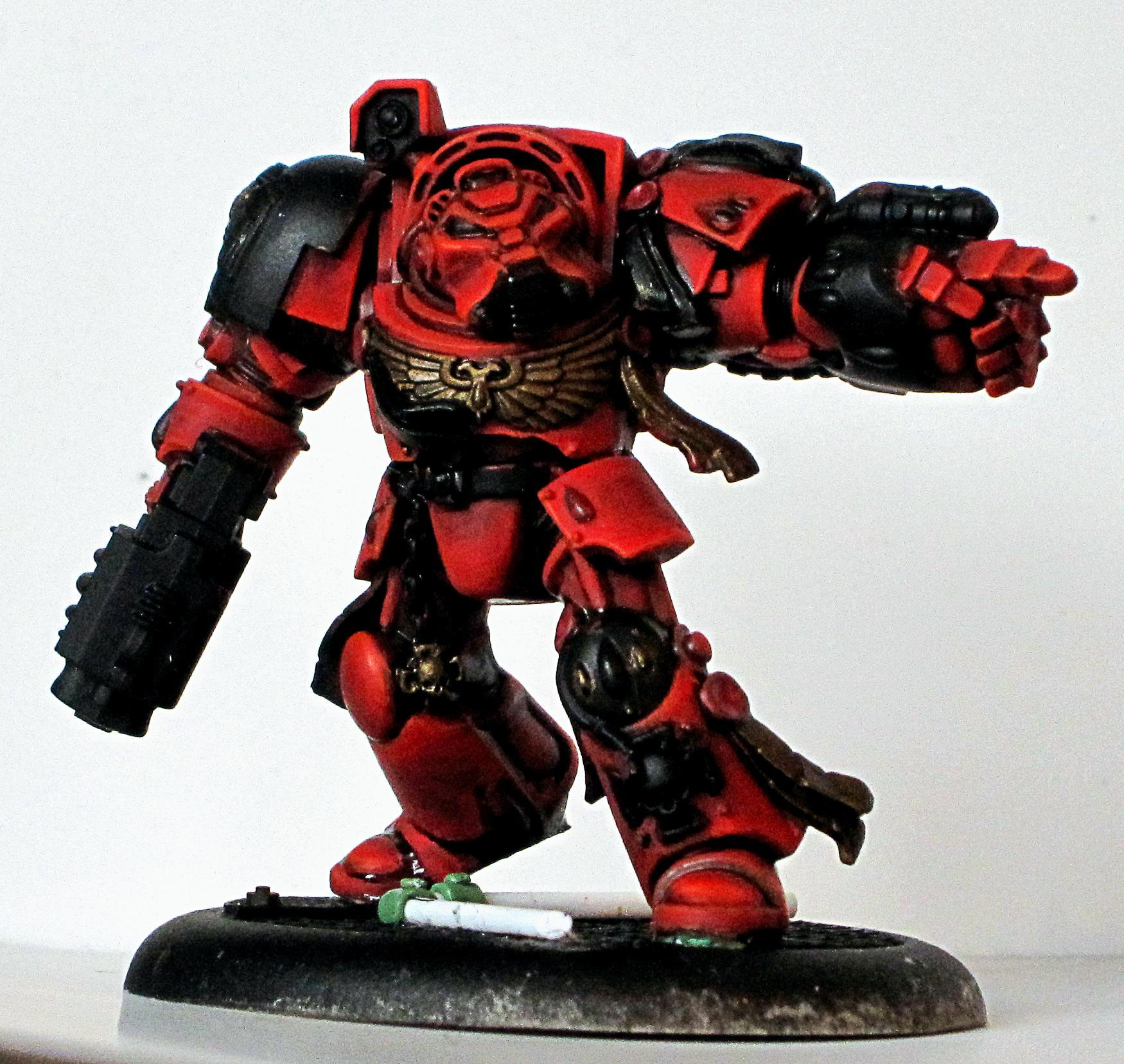 Slogging the red - Blood Angel Terminators
