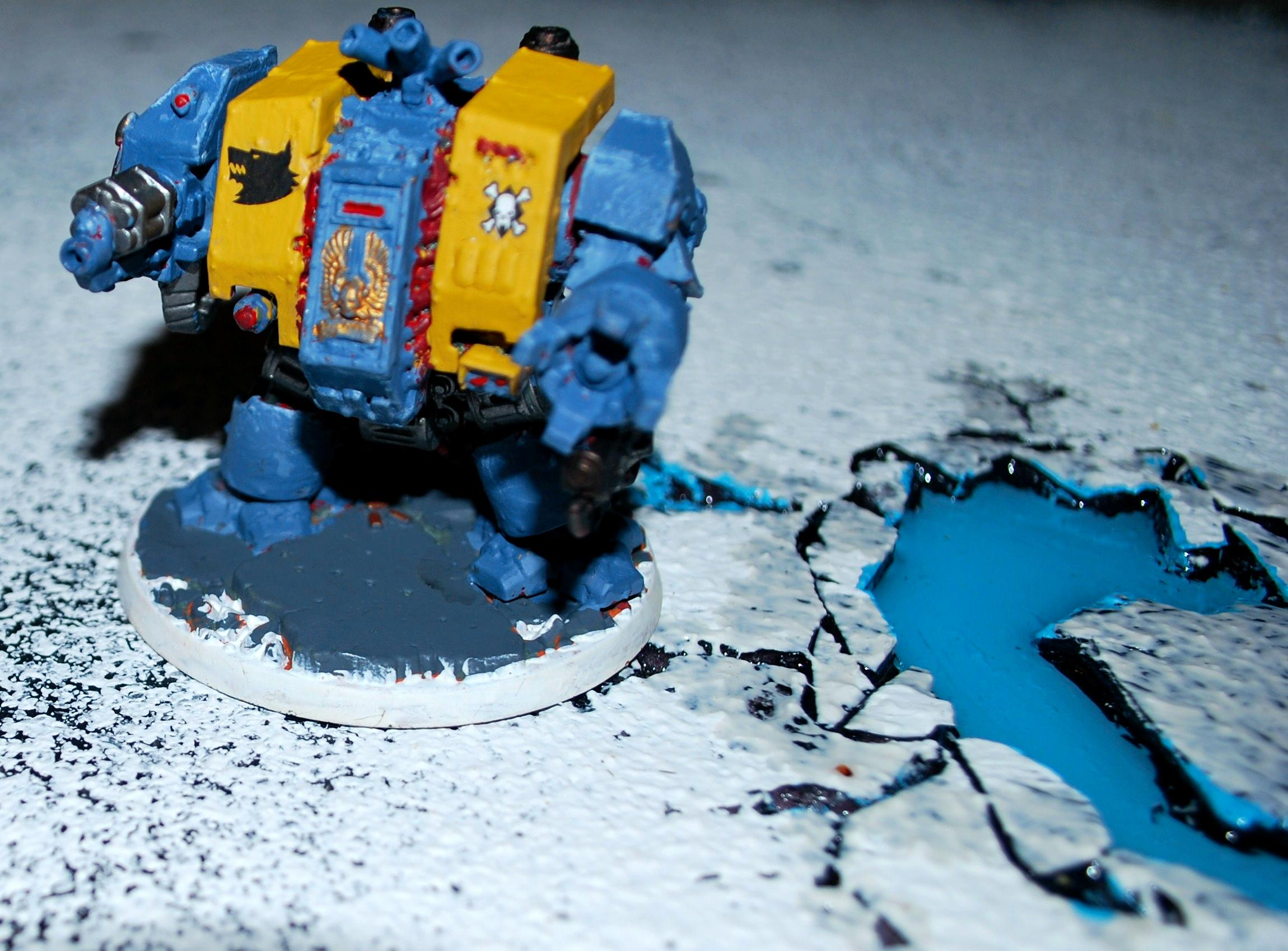 Dreadnought, Imperial, Space Marines, Space Wolves, Warhammer 40,000
