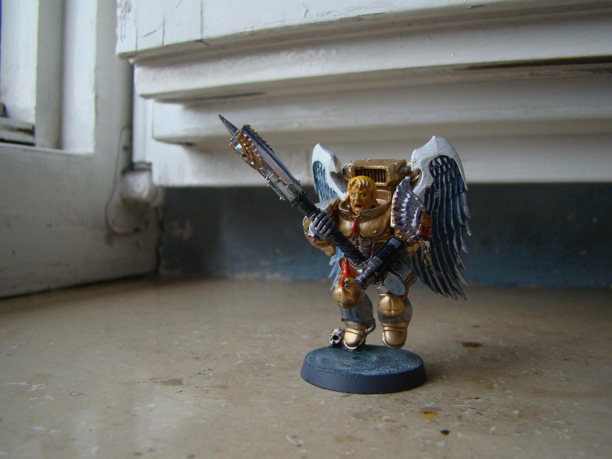 Blood Angels, Sanguary Guard, Space Marines, Warhammer 40,000