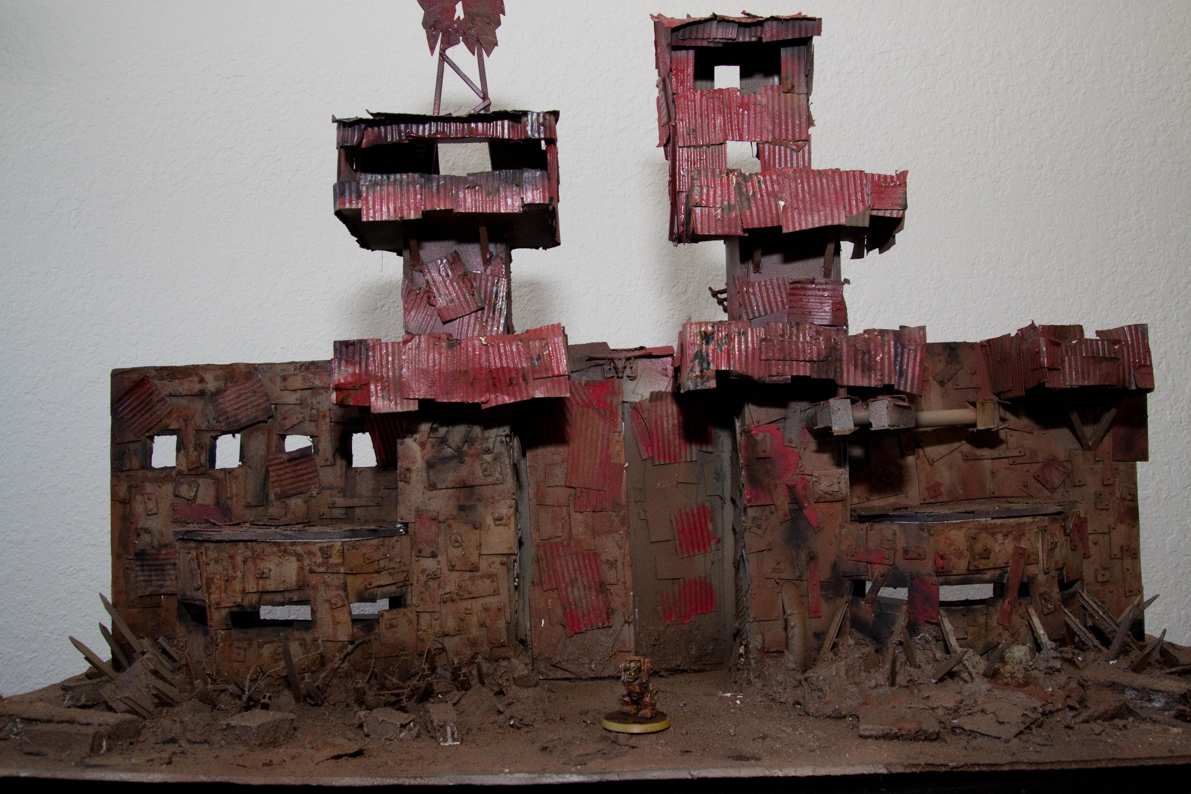Fortress, Meganob, Orks, Terrain