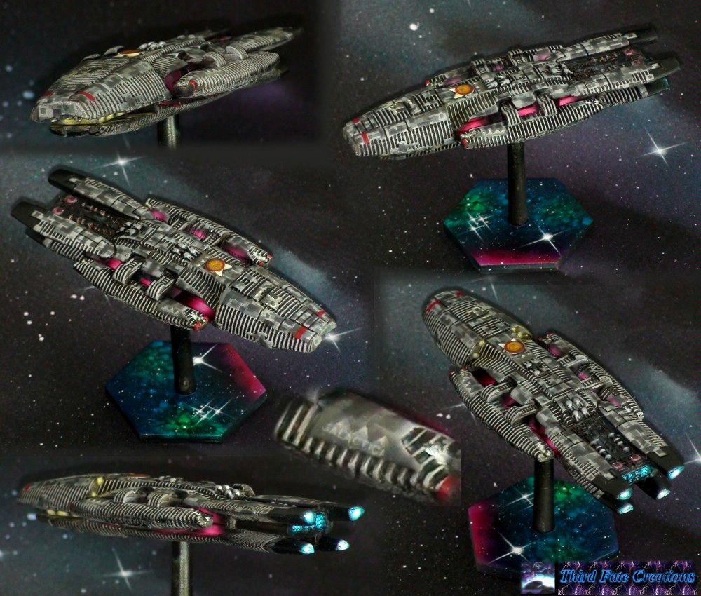 Battlefleet Gothic, Battlestar Galactica, Human, Spaceship