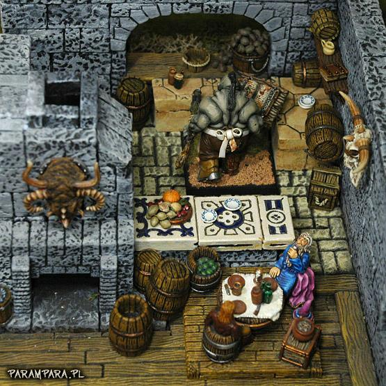 Bar, Book, Box, Boxes, Buildings, Butcher, City, Conversion, Cook, Drink, Drinking, Eat, Eating, Fireplace, Inn, Kitchen, Mordheim, Ogres, People, Scene, Tavern, Terrain, Town, Village, Wood