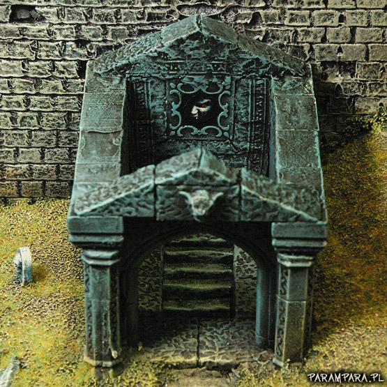 Bat, Bats, Buildings, City, Creepy, Crypt, Fear, Grave, Graves, Graveyard, Mausoleum, Memorial, Monument, Mordheim, Ruin, Ruined, Ruins, Scene, Stone, Terrain, Town, Vampire, Vampires, Village, Wall, Warhammer Fantasy