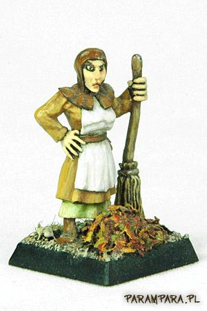 Folk, Peasant, Sweep, Sweeper, Town, Townfolk, Townsfolk, Woman
