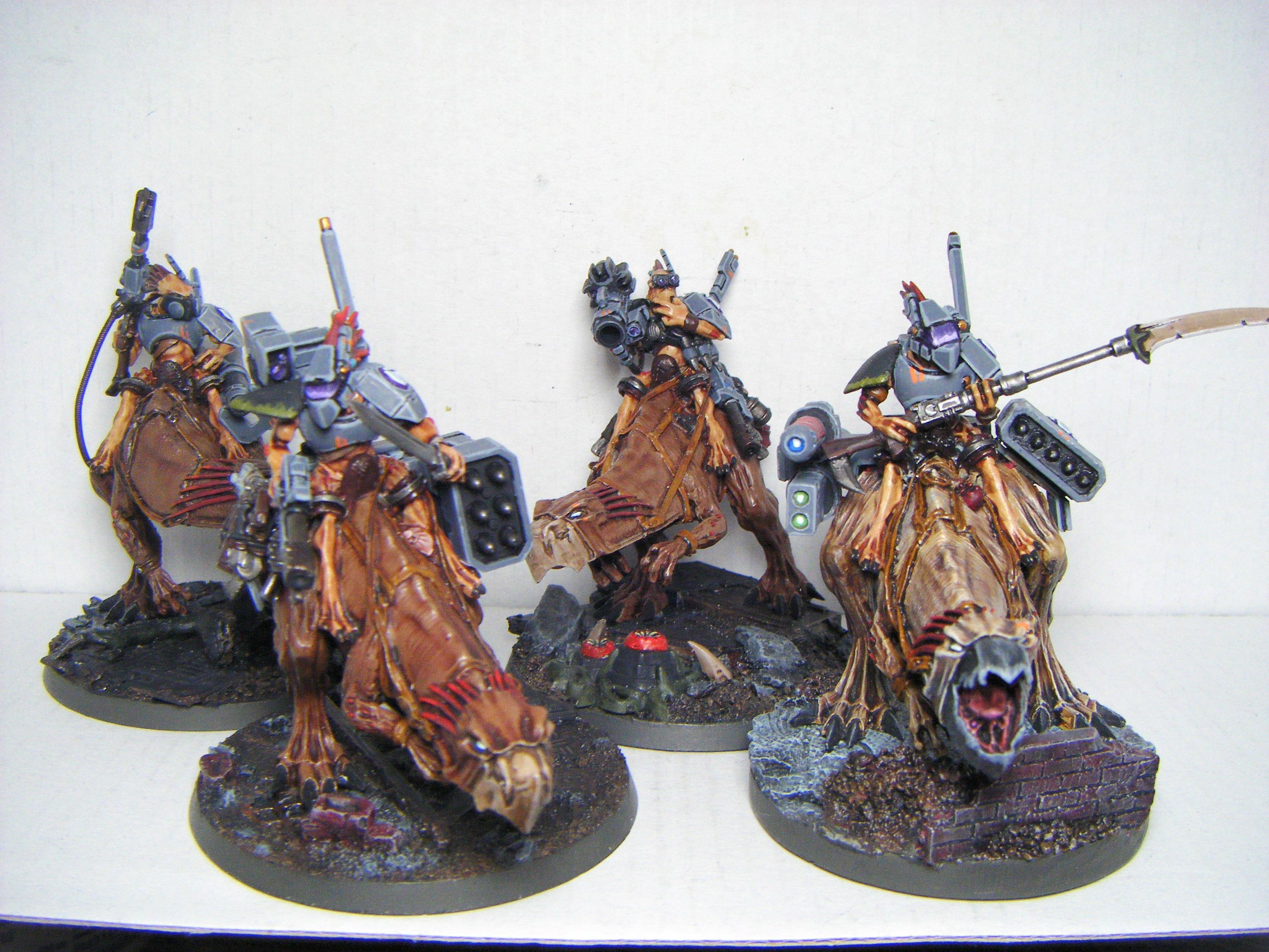 Knarloc, Kroot, Riders, Tau