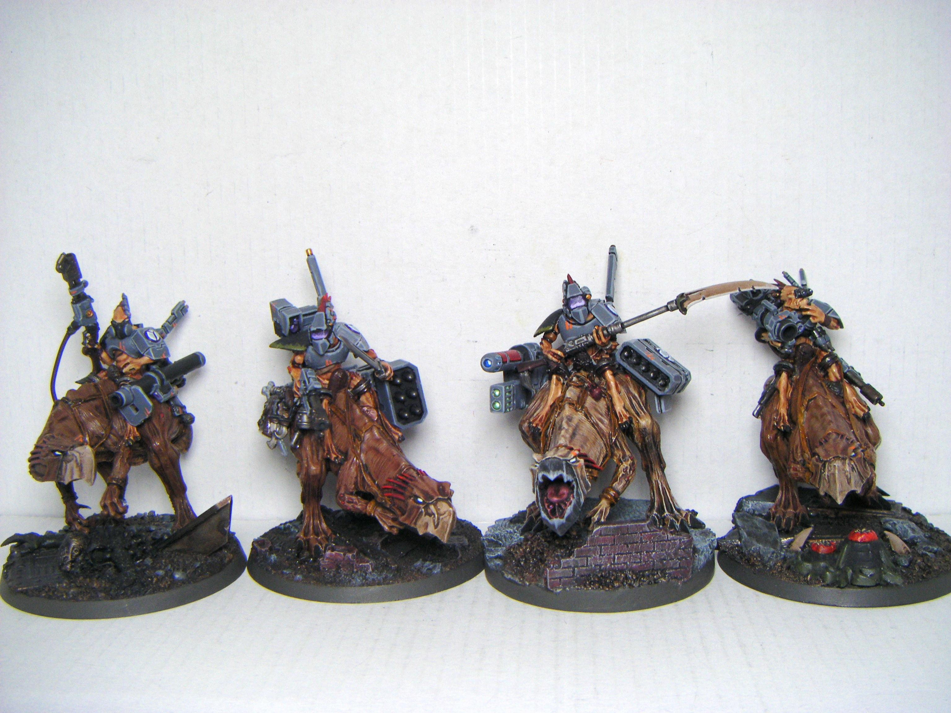 Knarloc, Kroot, Knarloc Riders - Group Shot